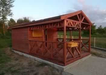 Domek drewniany letniskowy ogrodowy różne rozmiary