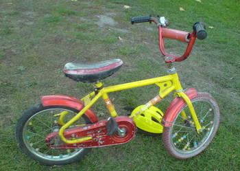 Rower,rowerek 2-6 lat,niemiecki,lekko jeżdżący-zamiana