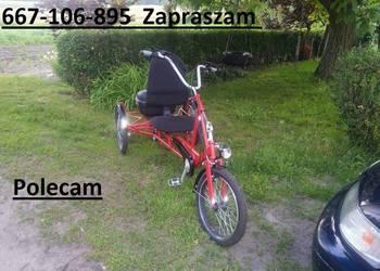 Rower Trójkołowy  rehabilitacyjny