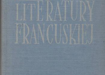 (01616) HISTORIA LITERATURY FRANCUSKIEJ (ZARYS) – JERZY ADAM