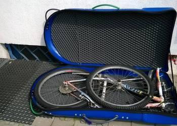 Box plastikowy walizka na rower