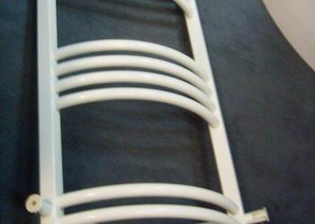 Grzejnik łazienkowy  narożny biały 40x80 Wat 380! Wyprz!