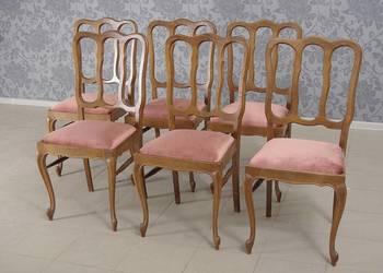 Krzesła stylizowane dębowe komplet 6 szt. 4761