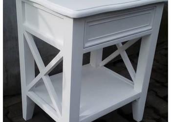 Szafeczka nocna stolik nocny z drewna, meble na wymiar