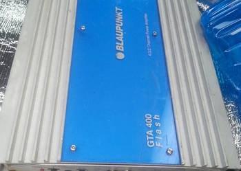 wzmacniacz blaupunkt 4 kanaly+skrzynia z glosnikiem 30cm