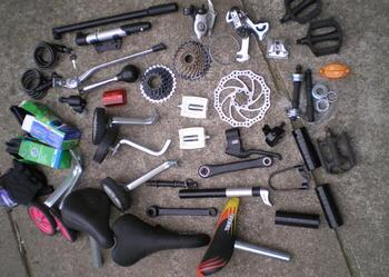 rowerów czesci - wszystkiego likwidacja