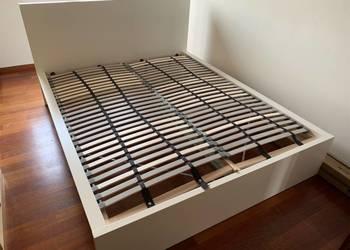 Ikea Rama łóżka Malm Materac 160x200 Cm