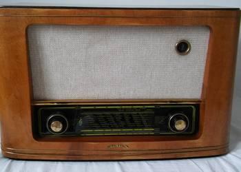 radio retro, vintage, antyk radio stolica