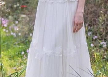śliczna śnieżnobiała Suknia ślubna Sprzedajemypl