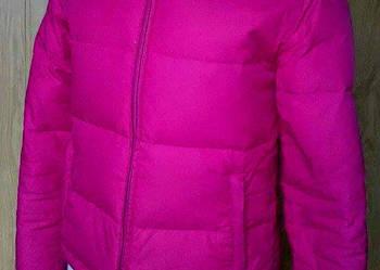 Różowa kurtka pikowana puchówka jesień zima Tommy Hilfiger f