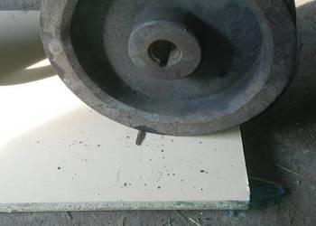 Koło pasowe rębak łuparka