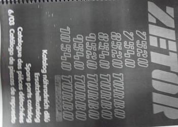 Katalog części ZETOR 7520, 7540, 8540, 9520, 9540, 10540 na sprzedaż  Parczew