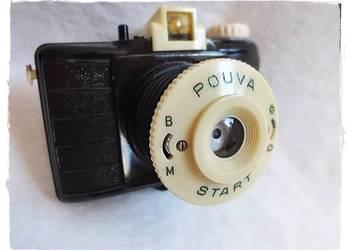 Unikat! Stary BIAŁY aparat Pouva Start w bakelicie IDEAŁ!