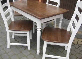 Prowansja stół biały prowansalski 110x70 nowy drewniany