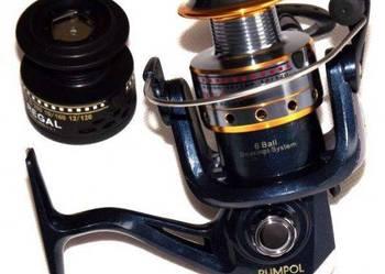 Kołowrotek RG2000A alum szpula 6BB spinning, spławik,i inne.