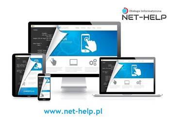 Projektowanie stron internetowych oraz sklepów internetowych