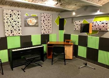 Nauka gry na perkusji, pianinie, gitarze, zajęcia wokalne