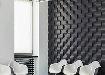 Panel gipsowy 3D TWIST panele gipsowe ścienne dekoracyjne