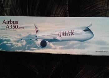 Model samolotu Airbus A350 Qatar Airways - cena sklep 129 $