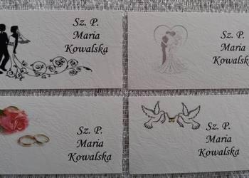 Winietki bileciki karteczki personaliZacja nowe wzory