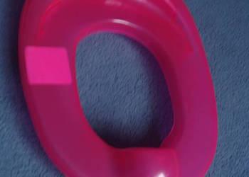 nakładka sedesowa dla dzieci różowa
