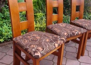 Nowe tapicerowane krzesło bukowe producent