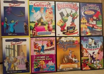 PŁYTY DVD,VCD dla dzieci 8 sztuk możliwość wysyłki