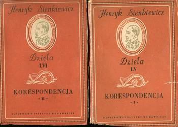Korespondencja t.1-2 Sienkiewicz