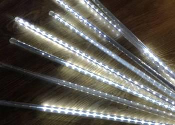 Girlanda świetlna LED meteorki duży zestaw - sznur z wtyczką