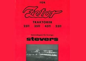 Zetor 2511, 3511, 4511, 5511 instrukcja obsługi na sprzedaż  Kielce