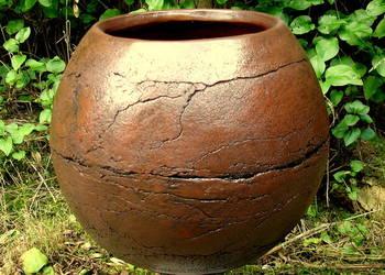 Ceramika. Donica. Kula ogrodowa mrozoodporna 40 cm.