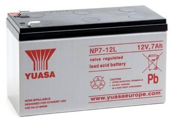 Akumulator żelowy YUASA 12v 7Ah