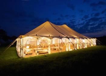 Wynajem namiotów imprezowych, wesele, ślub w plenerze