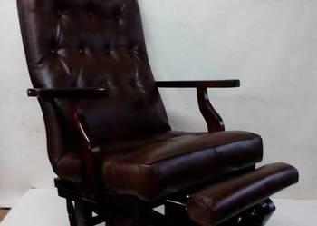 Rewelacyjny Fotel bujany , bujak , Bujany fotel , na prezent