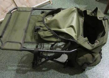 Krzesło rybackie z plecakiem