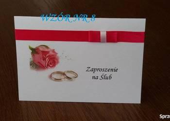 Zaproszenia na Ślub ślubne