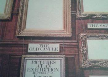 EMERSON, LAKE & PALMER - Pictures At An Exhibition ,71 lp ,U