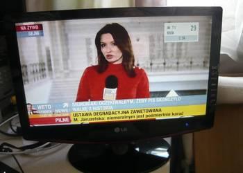 "Sprawny telewizor i monitor marki LG 19"" TV LCD z HDMI USB"