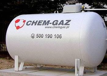 Zbiornik na gaz 2700 l, butla na GAZ PROPAN LPG NOWY CHEM-GA