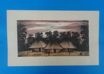 1. Wykonawca - Artysta MWAMBA - Oryginalny rysunek z Zambii.