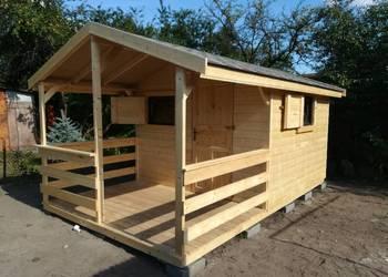 Domek drewniany letniskowy ogrodowy NARZĘDZIOWY DREWUTNIE