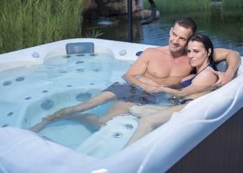 Luksusowe Jacuzzi wanna ogrodowa spa basen Wellis Venus