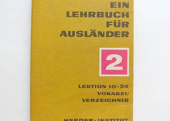 Deutsh ein lehrbuch fur auslander 2 lektion 10-24, niemiecki