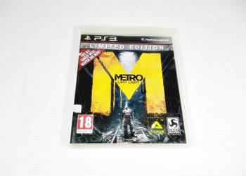 GRA NA PS3 METRO LAST LIGHT