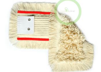 Mop bawełniany klips z oczkami 40 cm