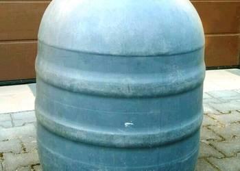 Beczki z tworzywa z deklem, 150 litrów