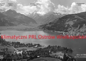 Pocztówka Post card Zell am See Austria Alpen lata 60-te