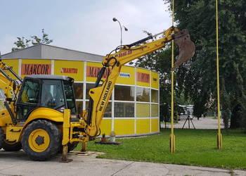 Koparko-ładowarka New Holland 115B, Kraków, małopolska