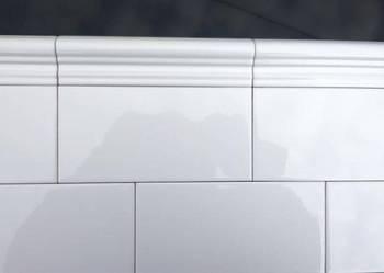płytki,glazura,białe błyszczące 10x20 g.1 hiszpańskie