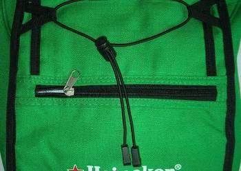 NOWY Plecak terminczny HEINEKEN na jedno ramię